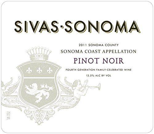 2011 Sivas-Sonoma Pinot Noir