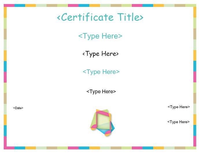 Education Certificates Music Certificate Certificatestreet