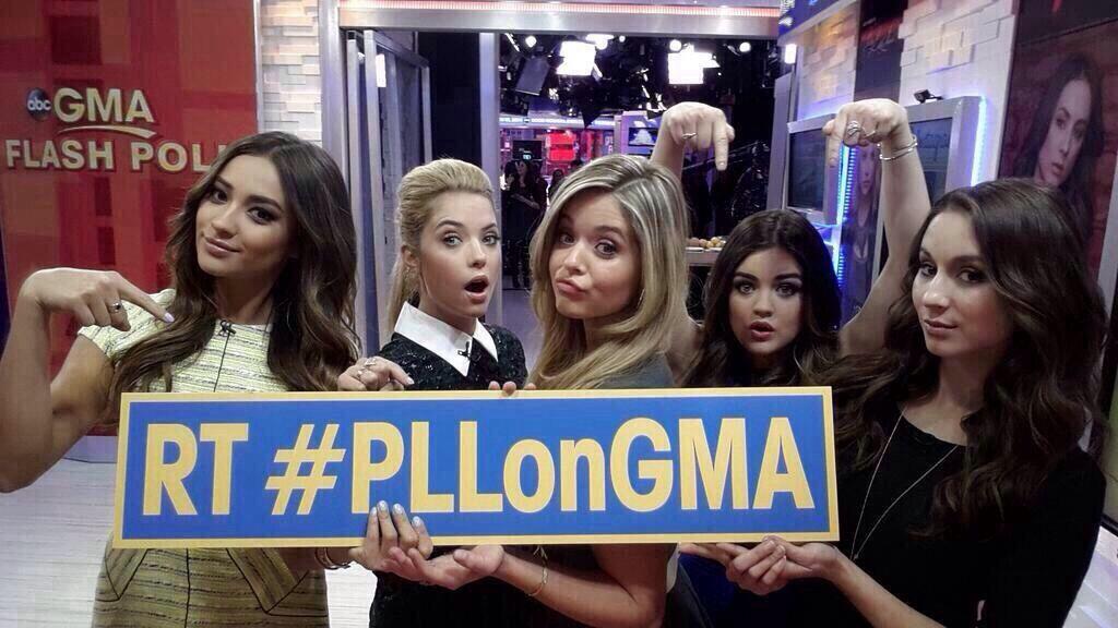 PLL on GMA :)