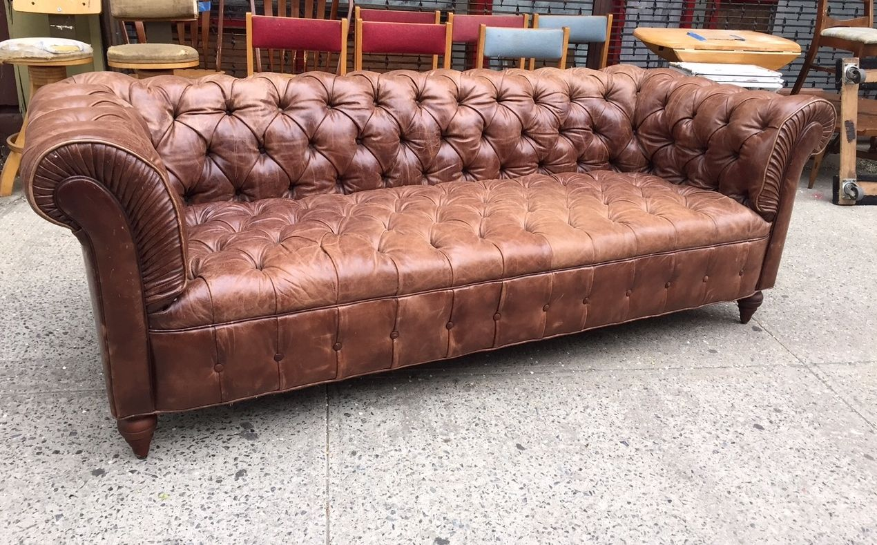 Vintage Leather Chesterfield Sofa | From A Unique Collection Of Antique And  Modern Sofas At Https://www.1stdibs.com/furniture/seating/sofas/