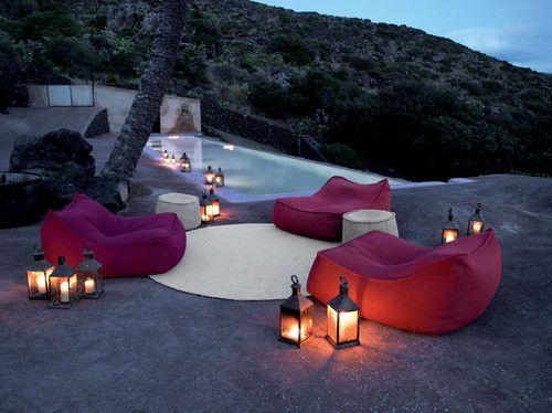 Comfortable tropical patio by escale design
