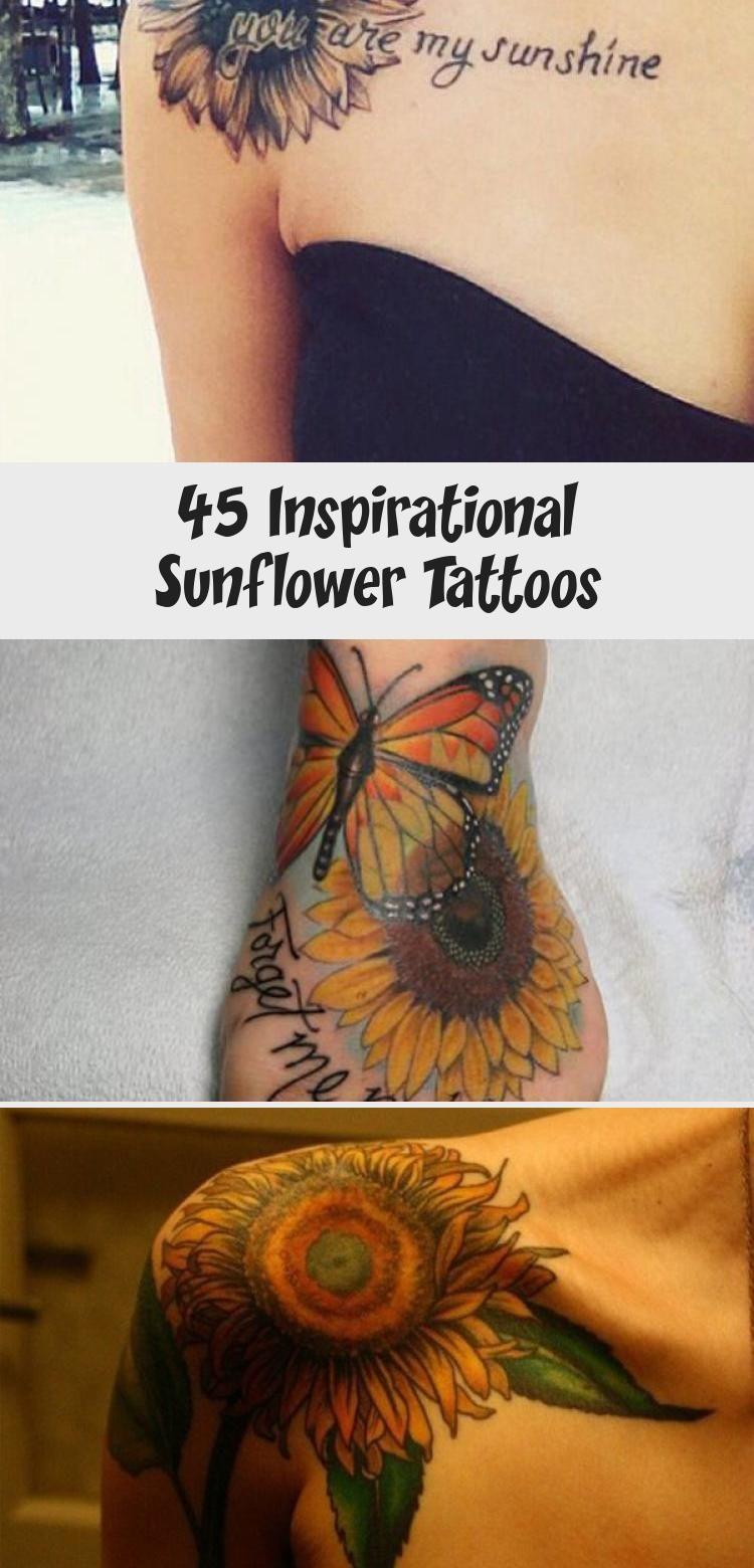Photo of 45 Inspirational Sunflower Tattoos – TATTOO