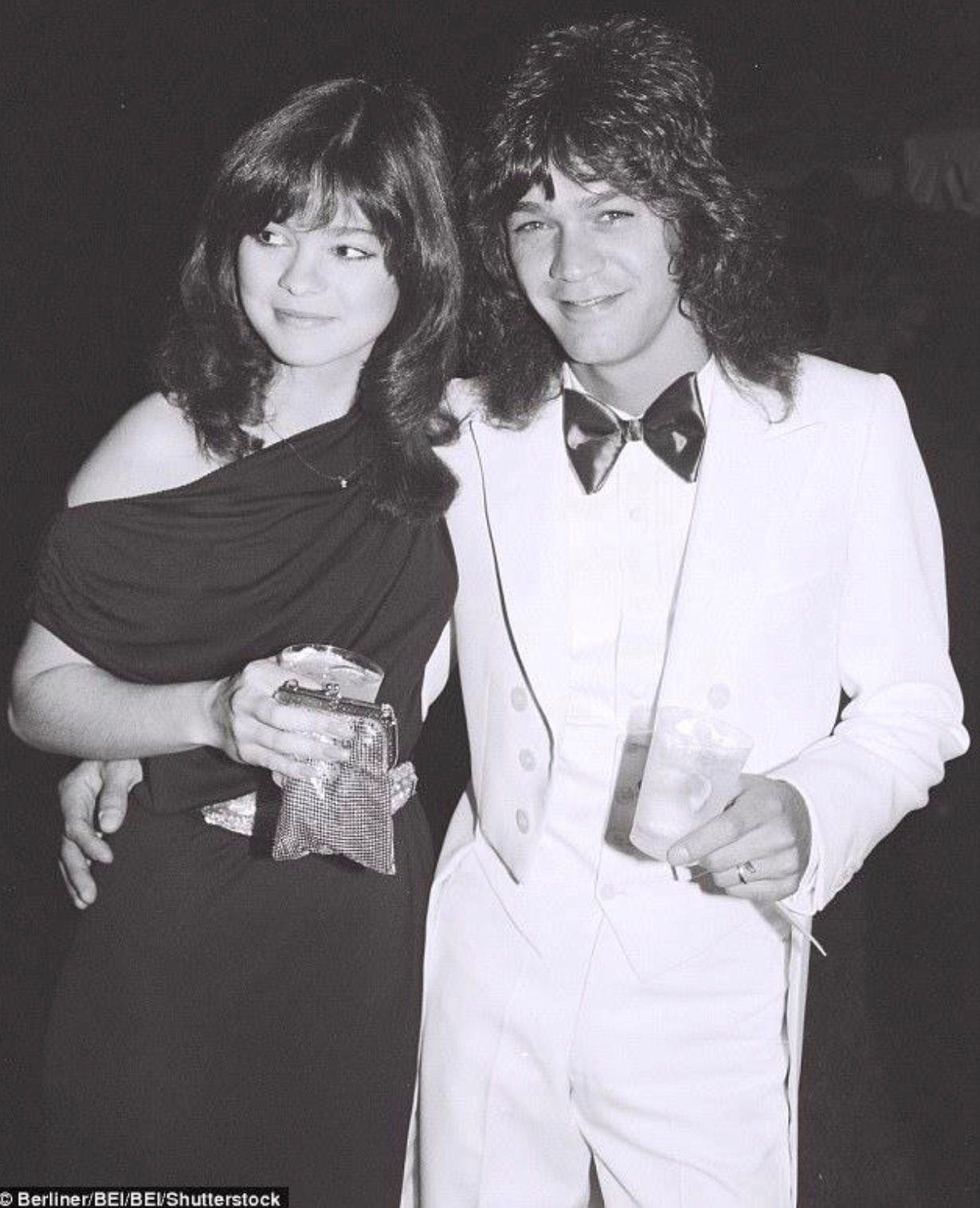 Valerie Bertinelli And Eddie Van Halen 1981 Van Halen Valerie Bertinelli Eddie Van Halen