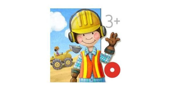 Tiny Builders Digger, Crane and Dumper for Kids! App