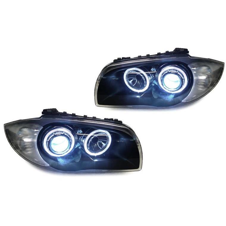Depo Bmw E82 / E88 Projector Xenon Headlights With V2