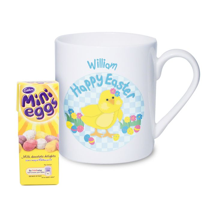Personalised easter chick mug with chocolates perfect easter gift personalised easter chick mug with chocolates perfect easter gift or present for little girl daughter negle Gallery