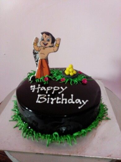 Birthday Cake Images Chota Bheem ~ Chota bheem with lots of laddoos my cakes pinterest salem s lot