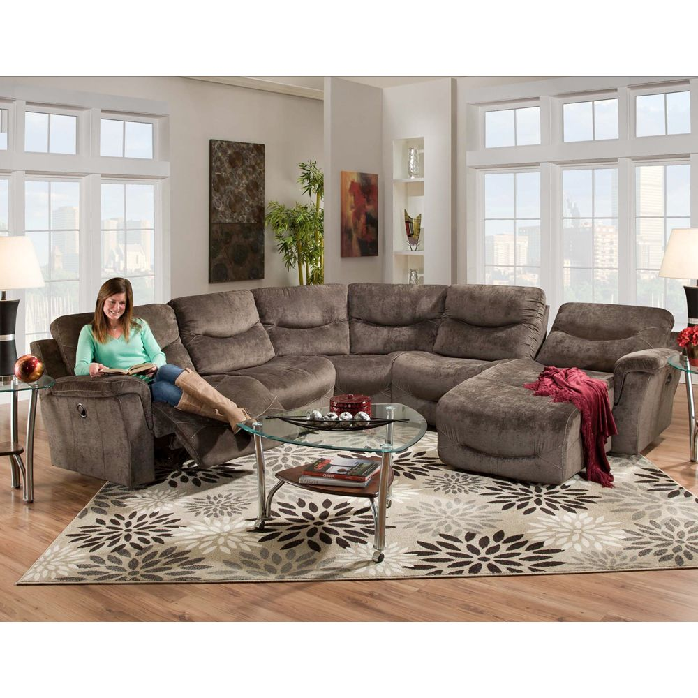 Home With Images Sectional Sofa With Recliner Living Room
