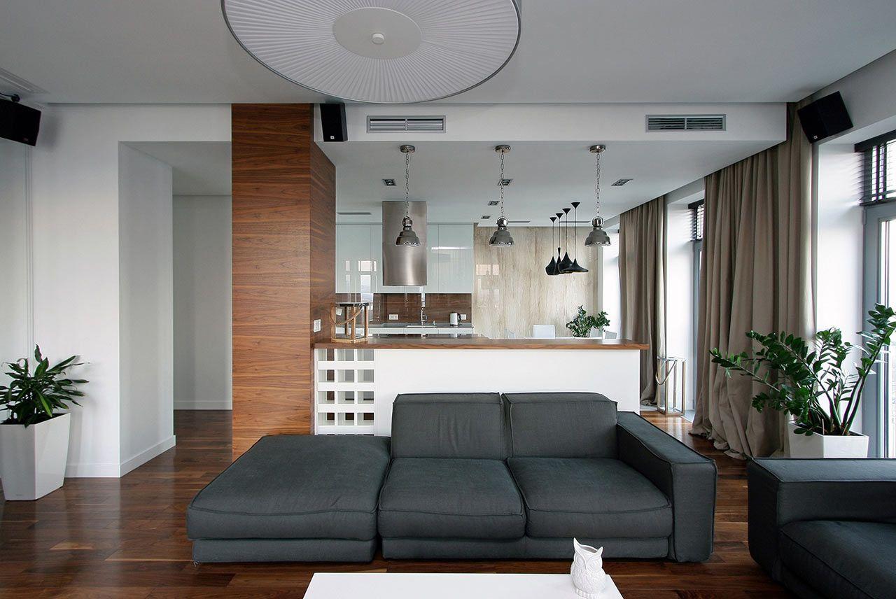 Принципы дизайна маленьких квартир — 38 фото