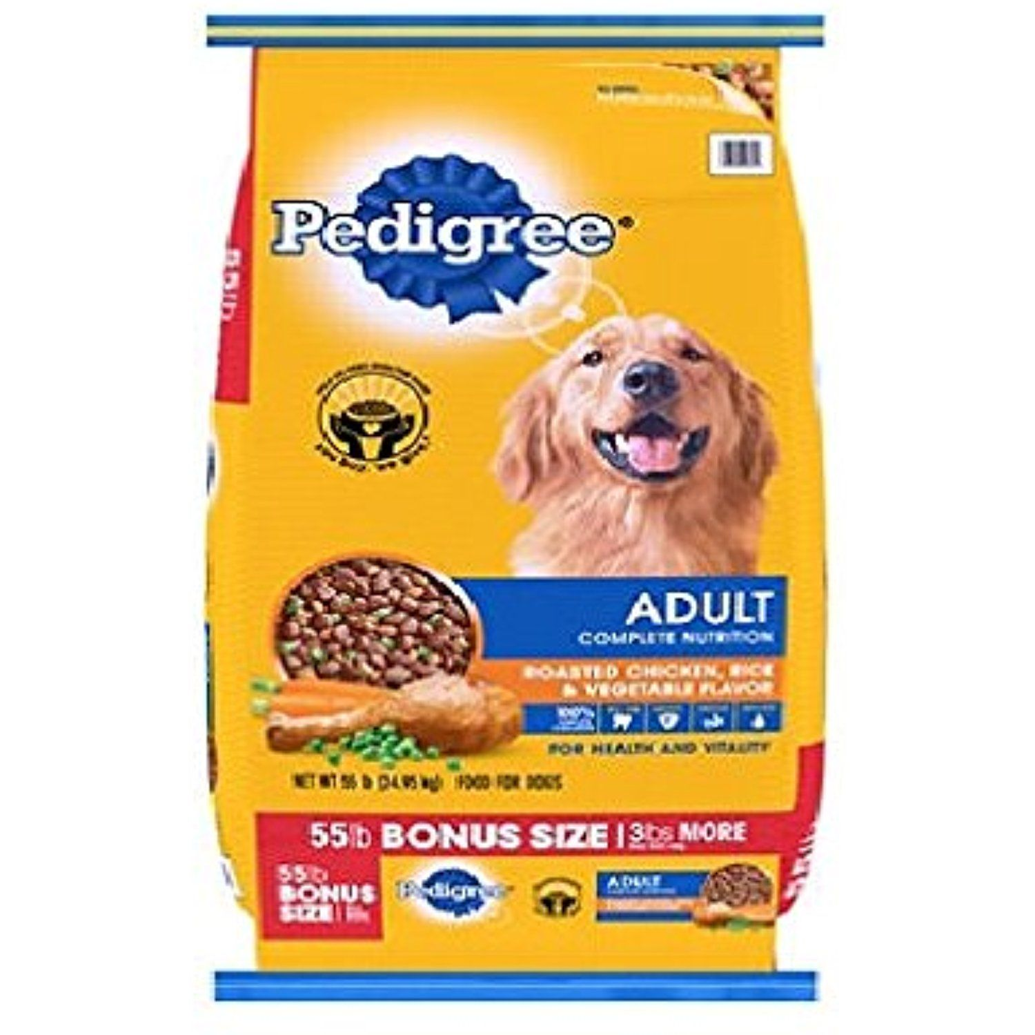 Pedigree Adult Complete Nutrition 55 Lbs You Can Click