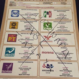 La impunidad quedó marcada en las boletas. | 31 Boletas electorales describen lo que algunos mexicanos piensan de sus políticos