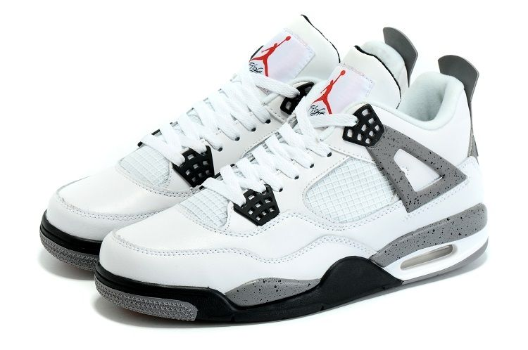 Buy Nike Air Jordan 4 OG 89 Retro White Cement Girls Size For Sale Xmas  Deals 2016 from Reliable Nike Air Jordan 4 OG 89 Retro White Cement Girls  Size For ...