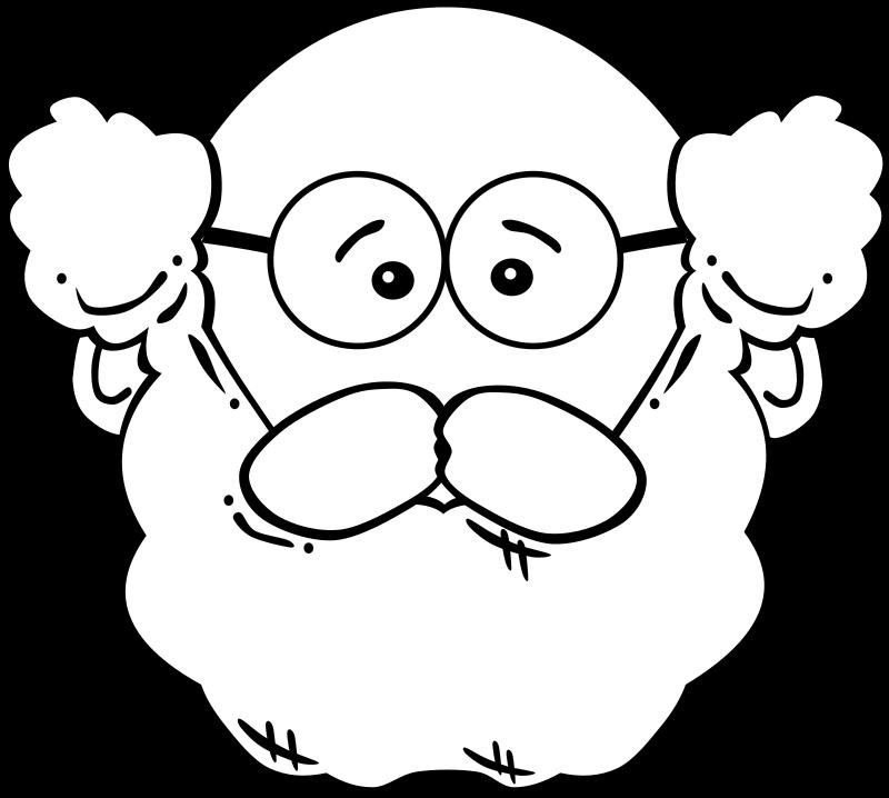 Clipart Man Face Cartoon Book Clip Art Old Man Cartoon Beard Cartoon