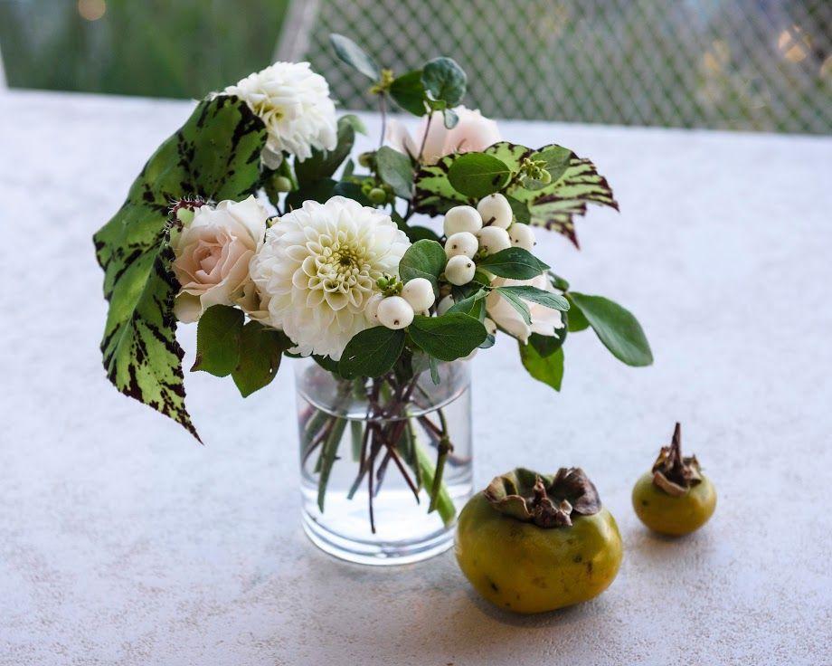 Elegant Wedding Floral Arrangement: beach wedding, rustic flowers, pink white green, romantic wedding decor, organic, loose
