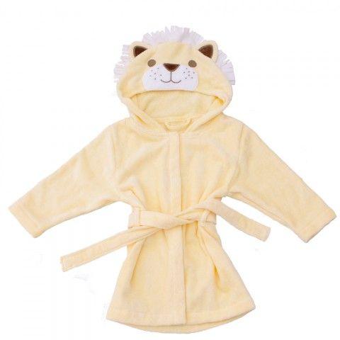 Bathing Bunnies Lion Baby Towelling Robe, available at Wauwaa http://bit.ly/1wgaryb #AutumnDays so cute! @wauwaauk #autumndays