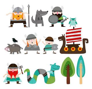 Illustration Inkspirations: New Collection: Liking the Vikings