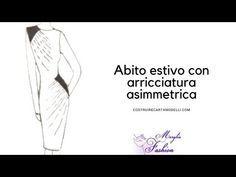Photo of Come costruire il tuo primo abito estivo con arricciatura assimmetrica cartamodelli online