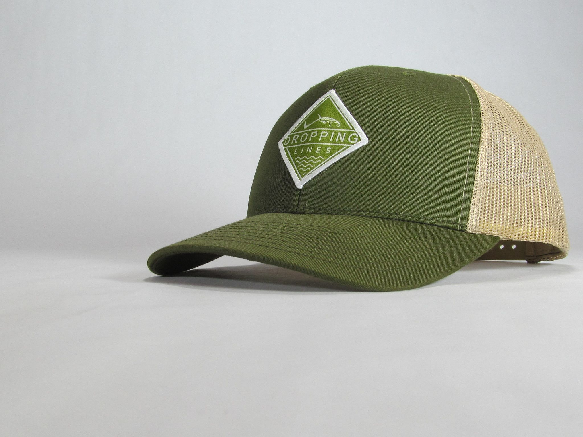 Dropping Lines - Green/Brown - Hat
