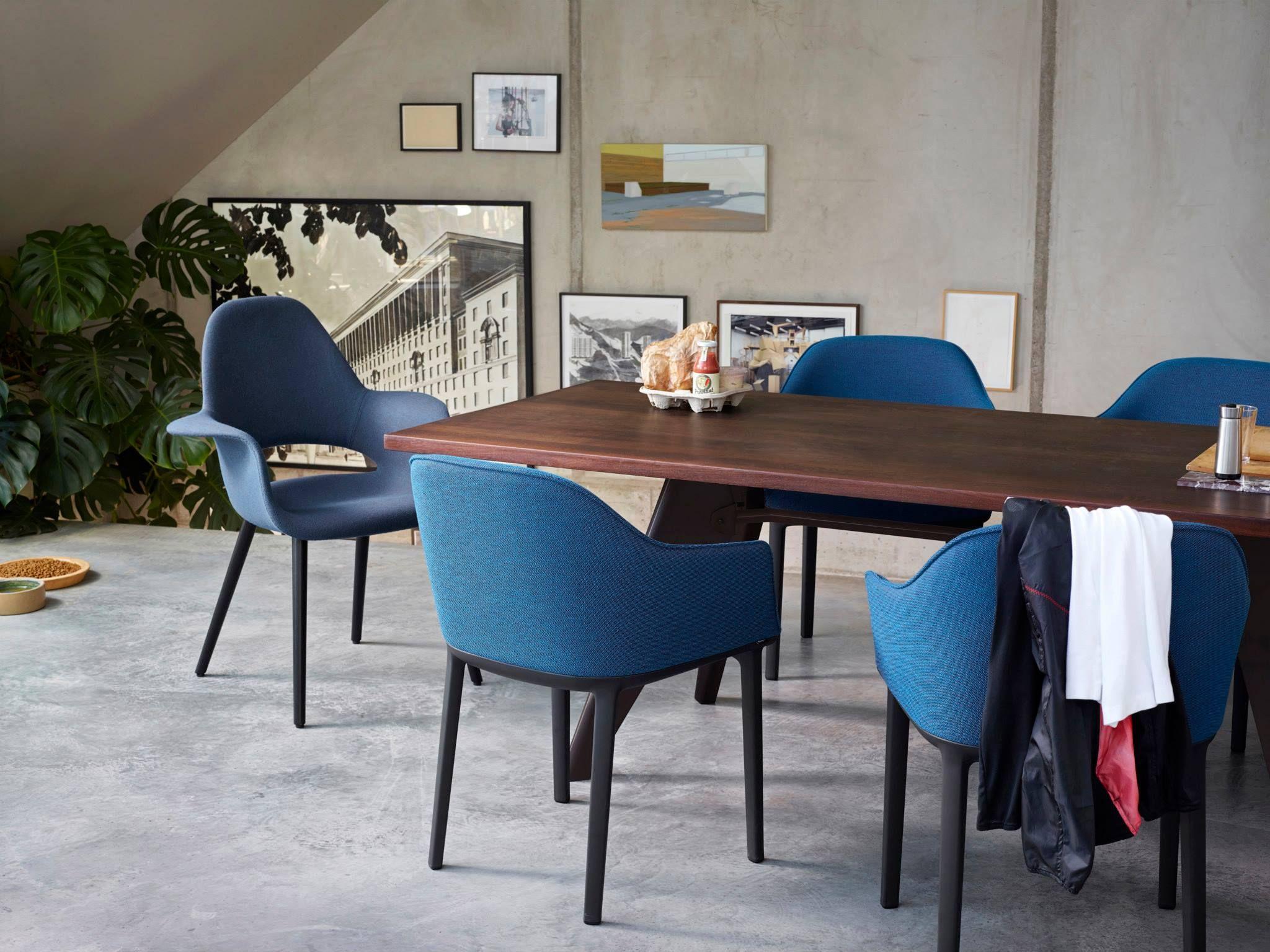 saarinen organic chair. Organic Chair De Charles #Eames Y Eero #Saarinen (1940) #Vitra. \ Saarinen