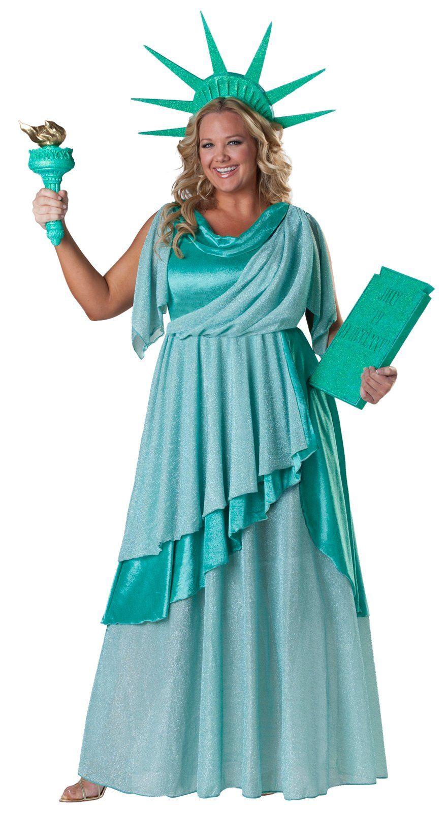 Lady liberty costume