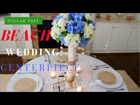 Dollar tree destination wedding centerpiece diy wedding dollar tree destination wedding centerpiece diy wedding decorations youtube junglespirit Choice Image