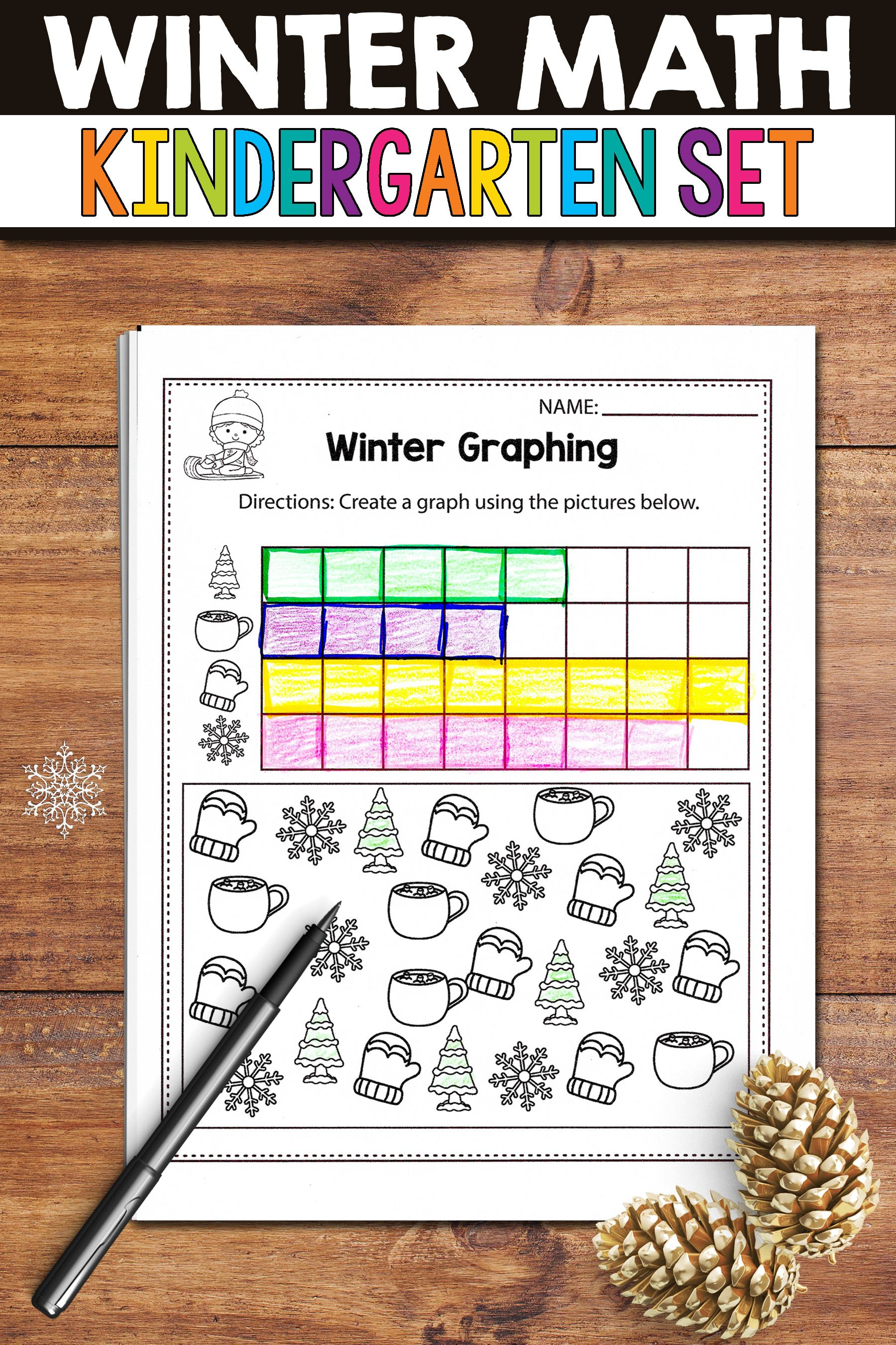 Winter Math Worksheets Are The Perfect Activities During