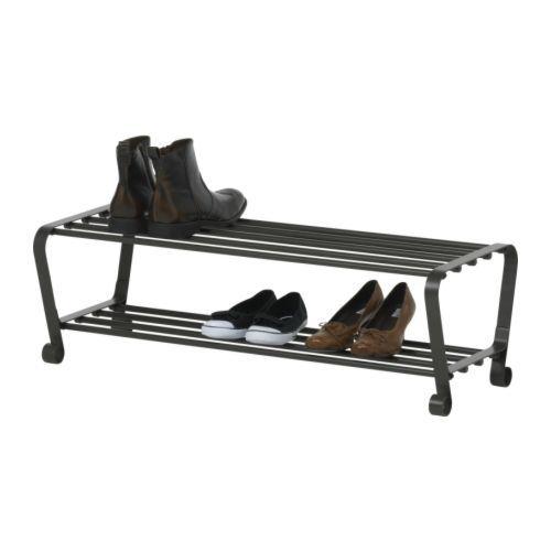 Ikea Portis Schoenenrek.Portis Suport Pantofi Negru Ikea Mania Metal Shoe Rack Ikea