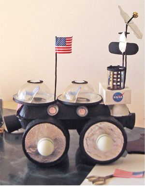 Moon buggy detail 03 space pinterest moon buggy space theme and school - Homes built from recycled materials nasas outer space challenge ...