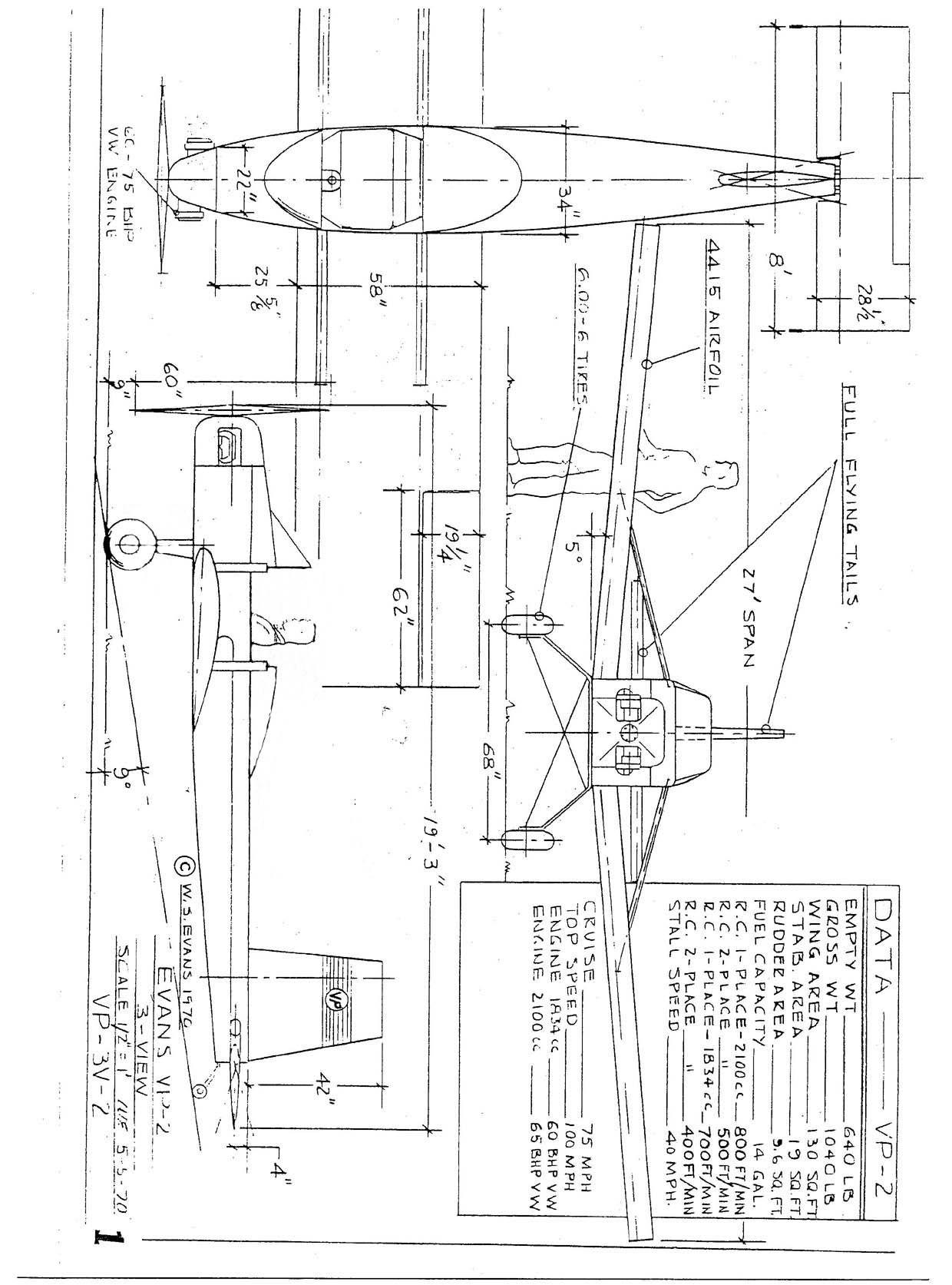9 Homebult Experimental Aircraft With Pictures and Plans