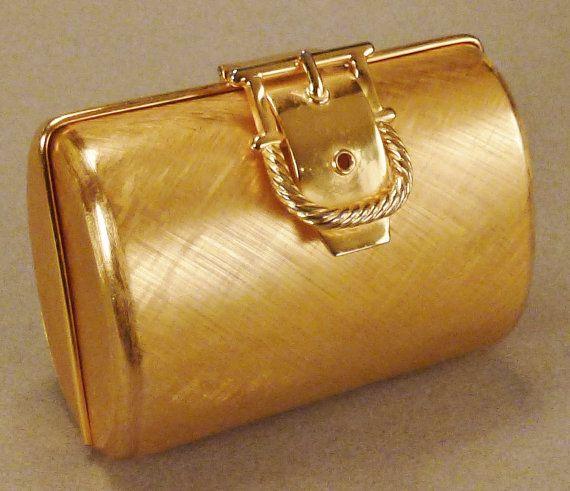1stdibs Rodo Italian Gilt Metal Shell Minaudière Evening Bag C 1970s 6IJuT5wpH1