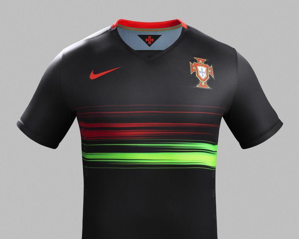 Camisa reserva de Portugal para esta temporada  de49df44281af