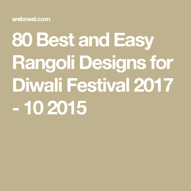 best and easy rangoli designs for diwali festival also rh pinterest