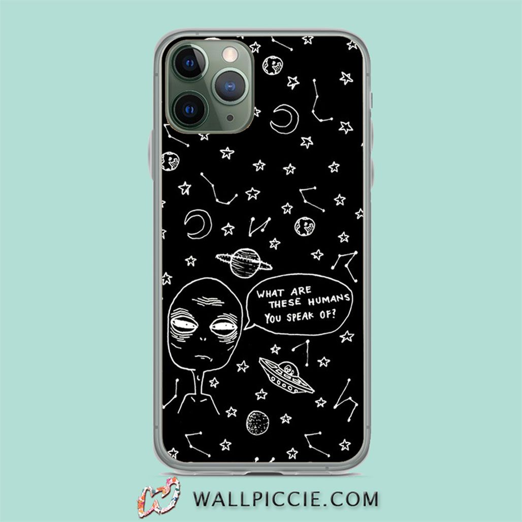 Alien quote aesthetic grunge iphone 11 case iphone xr
