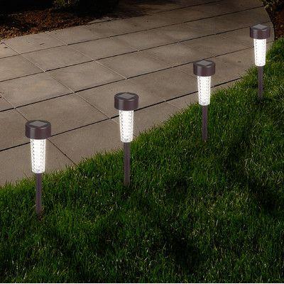 Solar Powered Led Pathway Light Pack Solar Path Lights Solar