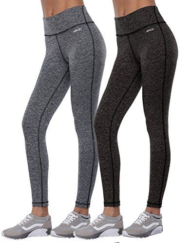5ca205546c6a95 Aenlley Womens Activewear Yoga Pants High Rise Workout Gym Spanx Tights  leggings Color BlackGreyDarkGrey Size L >>> More info could be found at the  image ...