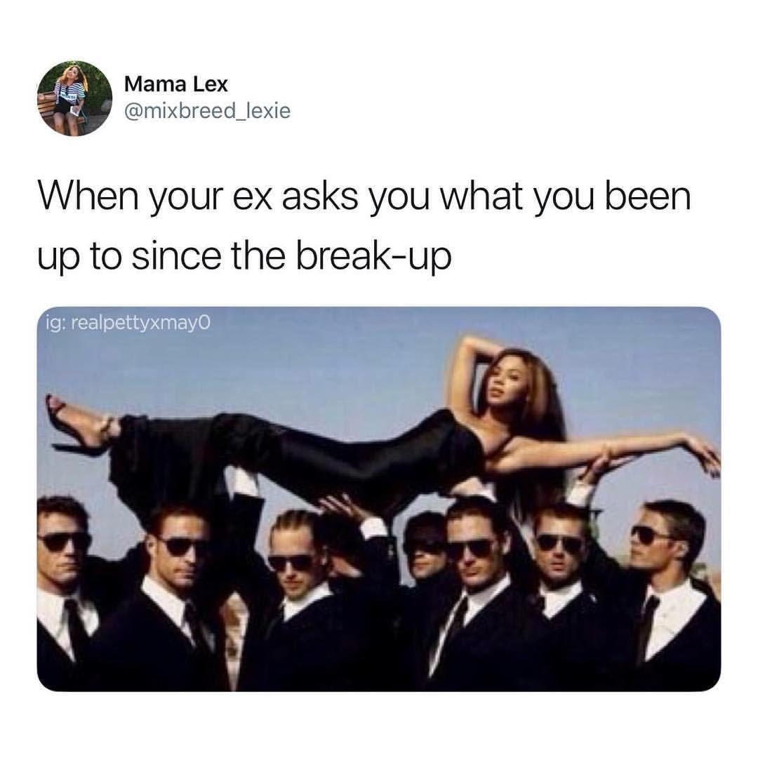 Instagram Post By Petty Mayonnaise Jun 9 2018 At 5 13pm Utc Funny Breakup Memes Instagram Funny Funny Feelings