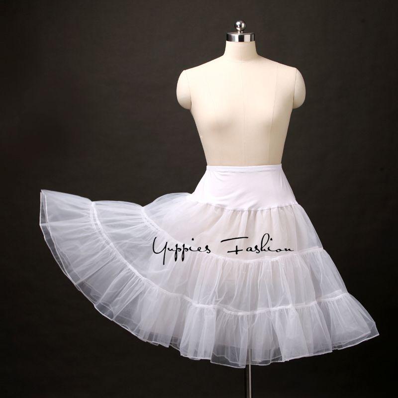 Yuppies Fashion Vintage Lolita Petticoat Organza Tulle Skirt Tutu Skirts  Womens Wedding Brides Skirt Underskirt faldas saias Price  19.98   FREE  Shipping   ... b4b152ae27ae