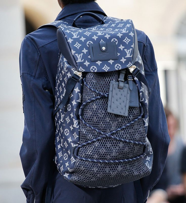 louis vuitton mens backpack. for spring 2017, louis vuitton took its men\u0027s bags on a fantastical storybook safari - mens backpack