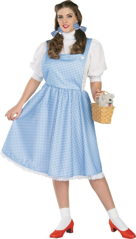 Plus Size Dorothy Costume for Adults - Halloween City blackwidows - halloween costume ideas plus size