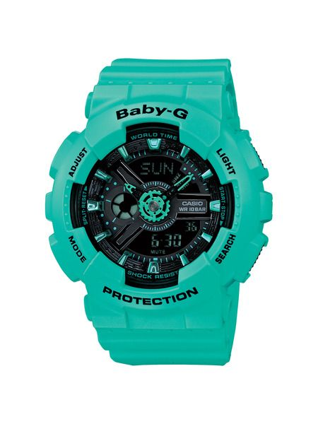 cdb90393f Casio Baby-G Watch! Talk about a great pop of color! The aqua/teal family  is one of my favorites for the summertime.