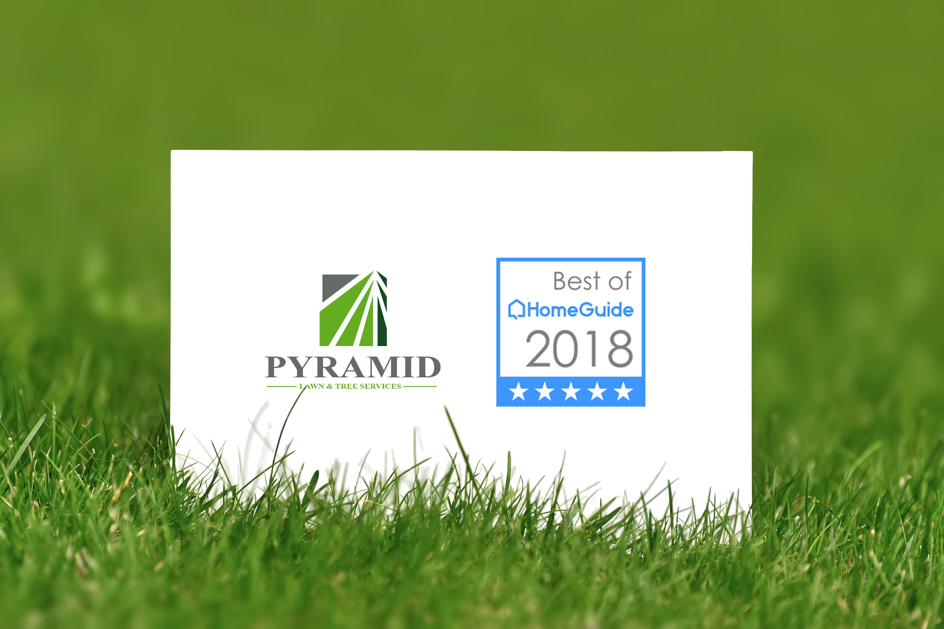HomeGuide rates Pyramid as the Best lawn care provider in