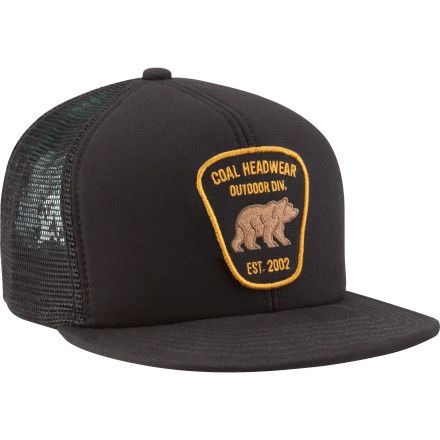 91c9d374cce Stick the Coal Bureau Trucker Hat on your dome