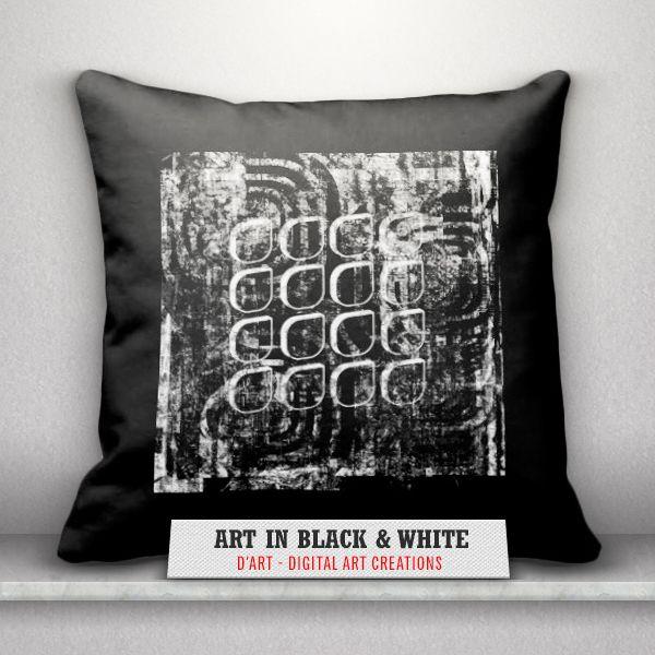 #Black and #white #pillows set... #art #abstractart #modern #blackandwhiteart #blackandwhite #abstract #zazzle #zazzler #zazzleshop #digitalartcreations #throwpillows