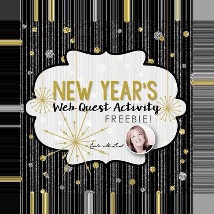 #activity #freebie #quest #Web #winter break teacher student #years New Ye