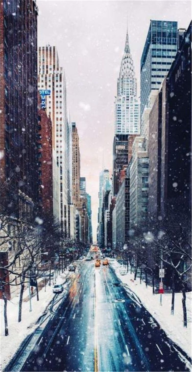 60 High Quality And Breath Taking Christmas Winter Wallpaper For Your Phone Page 25 Of 60 Women Fashion Lifestyle Blog Shinecoco Com New York Wallpaper York Wallpaper City Wallpaper