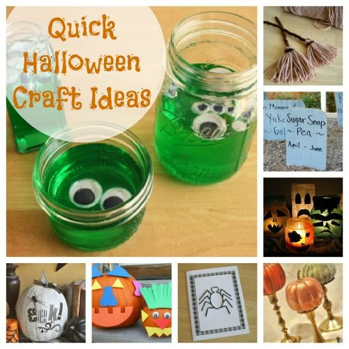 Simple Ideas for Your Halloween Class Party Craft, Holidays and - halloween craft decorations