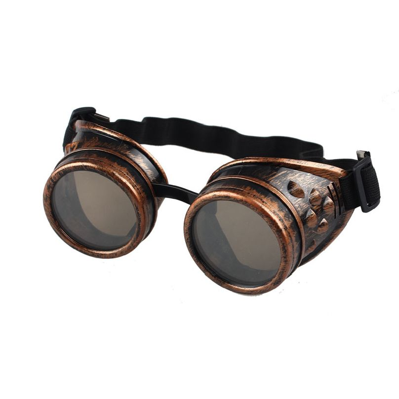 Gothic vintage Victorian Style Steampunk Goggles