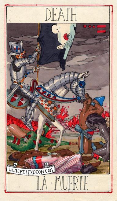the fool's journal..., lacartetreizieme: Death by Felix d'Eon I WANT...