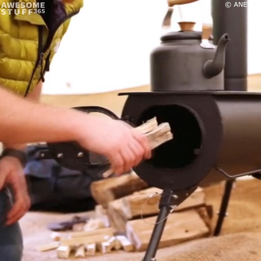 Photo of Portable Wood Stove