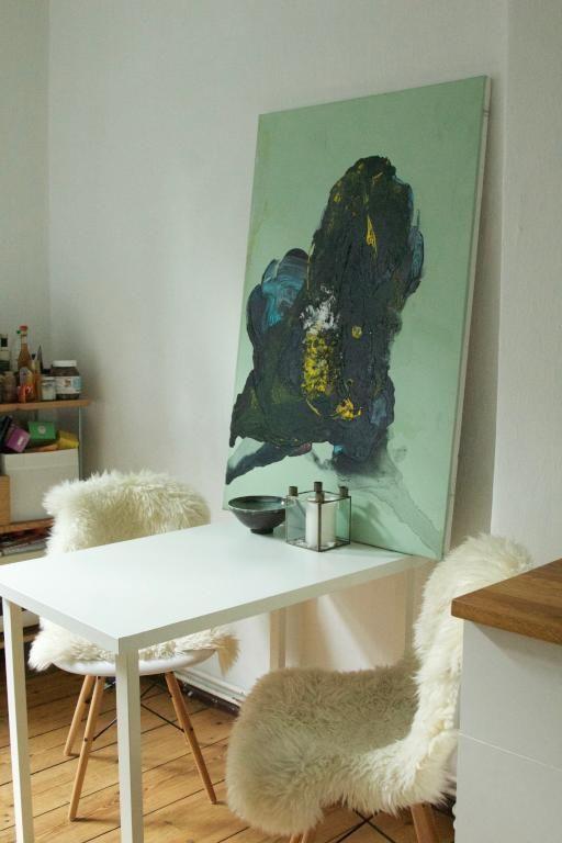 Sitzecke in der Küche. #Einrichtung #Idee #painting   HOME ...